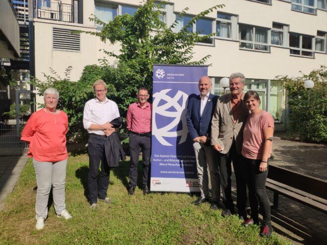 Eröffnung des Seniorennetz Berlin
